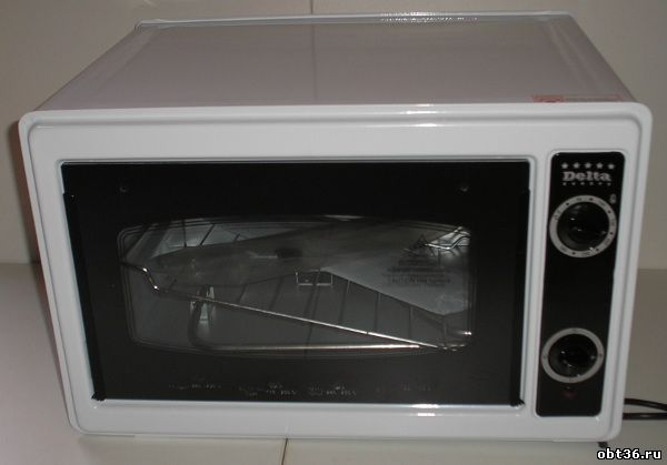 электрическая духовка delta/asel д-022 цвет-белый