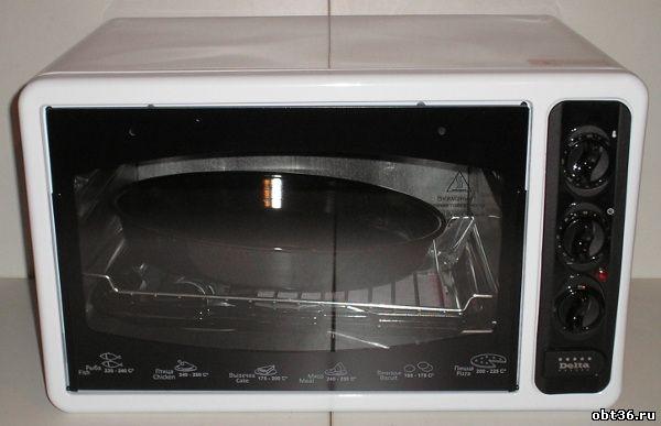 духовка электрическая delta/asel d-023a цвет-белый