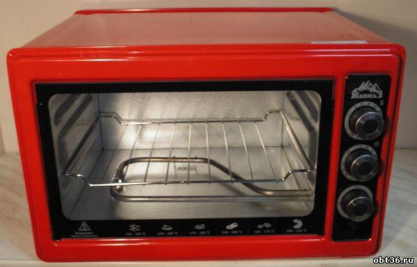 электрическая духовка кавказ кз-200 красная
