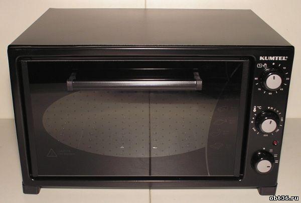 духовка электрическая kumtel kf-5320 цвет-чёрный