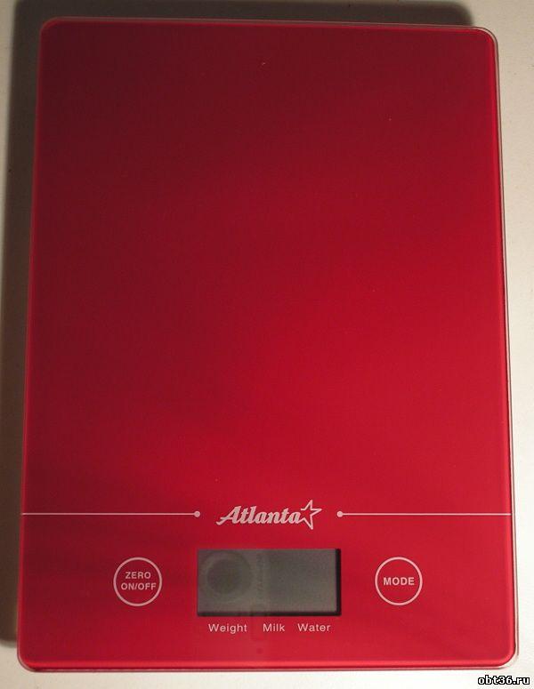 весы бытовые кухонные atlanta ath-801