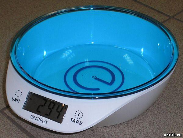 весы электронные energy en-417