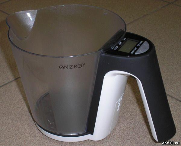 кухонные весы для сыпучих продуктов energy en-418