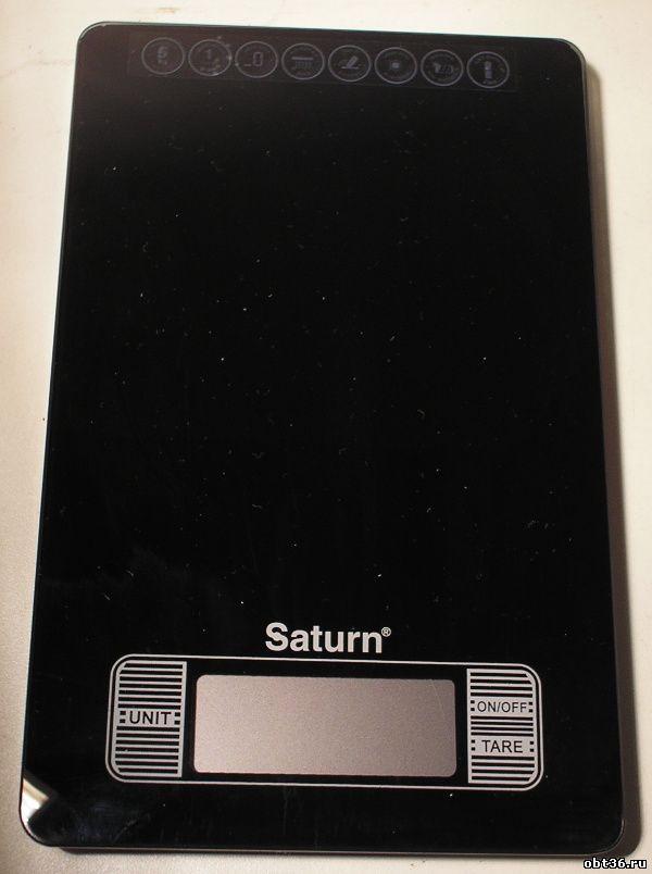 весы бытовые кухонные saturn stks7235